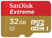 Sandisk Extreme microSDHC Class 10 UHS Class 1 45MB/s 32GB