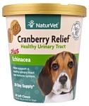 NaturVet Cranberry Relief + Echinacea Soft Chews для собак