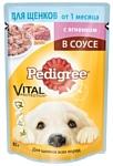 Pedigree (0.085 кг) 1 шт. Для щенков от 1 месяца с ягненком в соусе