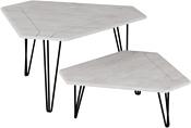Калифорния мебель Тет-а-тет (белый бетон)