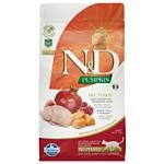Farmina (1.5 кг) N&D Grain-Free Feline Pumpkin Neutered Quail