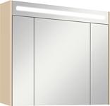 Акватон Блент 80 Зеркальный шкаф кремовый (1.A161.0.02B.LA7.0)