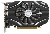 MSI GeForce GTX 1050 Ti 1290Mhz PCI-E 3.0 4096Mb 7008Mhz 128 bit DVI HDMI HDCP