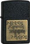 Zippo Classic 362 Black Crackle