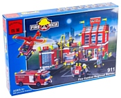 Enlighten Brick Пожарные 911 Пожарная часть и техника