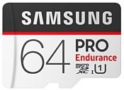 Samsung microSDXC PRO Endurance UHS-I U1 100MB/s 64GB + SD adapter