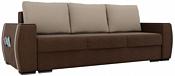 Лига диванов Брион 101772 (коричневый/бежевый)