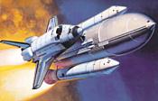 Hasegawa Космический орбитальный шаттл Space Shuttle Orbiter w/Boosters