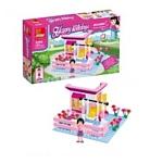 Peizhi Happy Holidays 0496 Летний домик с цветами