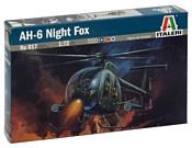 Italeri 017 Легкий многоцелевой вертолет AH-6 Night Fox