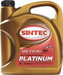 Sintec Platinum 5W-40 API SN/CF 4л