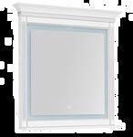 Aquanet Зеркало с полкой Селена 105 00201647 (белый/серебро)
