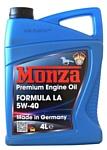 Monza Formula LA 5W-40 4л