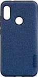 EXPERTS TEXTILE TPU для Xiaomi Redmi Note 6 Pro (синий)
