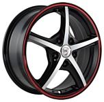 NZ Wheels SH667 5.5x14/4x98 D58.6 ET35 BKFRS
