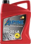 Alpine RSL 5W-30 LA 4л