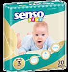 Senso Baby Midi 3 (4-9 кг) 70 шт
