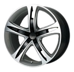 NZ Wheels SH669 7x17/5x105 D56.6 ET42 Silver