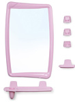 Berossi Комплект 51 (розовый мрамор)