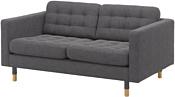Ikea Ландскруна 692.702.83 (гуннаред темно-серый/дерево)