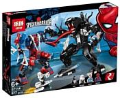 Lepin Spider-Warrior 07114 Человек-паук против Венома