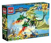 Enlighten Brick The War of Glory 2311 Двуглавый дракон
