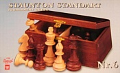 Wegiel Chess Staunton No 6 (деревянный футляр)