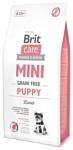 Brit (2 кг) Care Mini Grain Free Puppy Lamb
