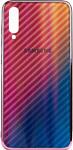 EXPERTS Aurora Glass для Samsung Galaxy A40 с LOGO (розовый)