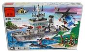 Enlighten Brick CombatZones 820 Военный корабль (крейсер)