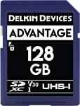 Delkin SDXC Advantage UHS-I 128GB