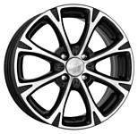 K&K Блюз-оригинал КС606 6x15/4x100 D54.1 ET48 Алмаз черный