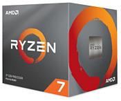 AMD Ryzen 7 3700X Matisse (AM4, L3 32768Kb)