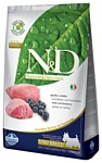 Farmina N&D Grain-Free Canine Lamb & Blueberry Adult Mini (0.8 кг)
