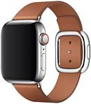 Apple с современной пряжкой 40 мм (золотисто-коричн., размер M) MWRD2