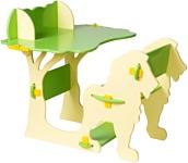 Столики Детям Мадагаскар