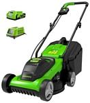 Greenworks 2509607 G24LM32K2