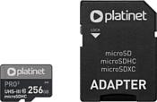 Platinet Pro 3 microSDXC PMMSDX256UIII 256GB