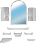 Белпласт Набор мебели для ванной белый (с300-2830)