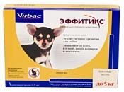 Virbac Эффитикс капли для собак до 5 кг