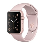 Apple Watch Series 1 42mm Rose Gold with Pink Sand Sport Band (MQ112)