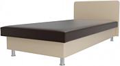Лига диванов Мальта 200x80 101753 (коричневый/бежевый)