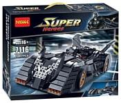 Jisi bricks (Decool) Super Heroes 7116 Бэтмобиль