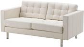 Ikea Ландскруна 092.489.02 (бумстад белый/металл)