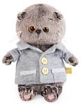 Basik & Co Басик Baby в сером пиджачке BB-021