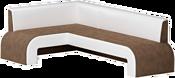 Mebelico Кармен 58832 (левый, коричневый/белый)