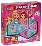 ГОРОД МАСТЕРОВ Магнитный 4032 Набор для девочек