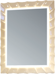 MarkaOne Зеркало Lumier 65x85 У72504 (ваниль)