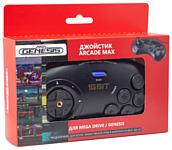 Retro Genesis Controller 16 Bit Arcade Max