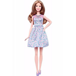 Barbie Fashionistas 53 Lovely in Lilac - Tall (DVX75)